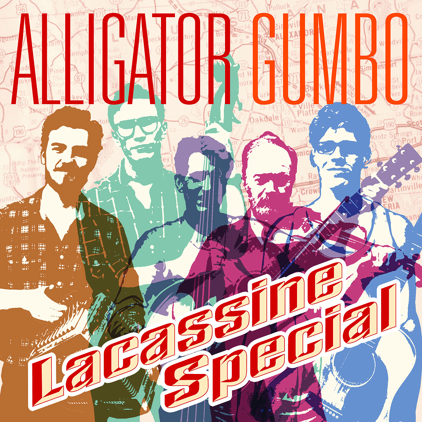 No longer available from us. Since Nov. 2014 distributed by Rootsy.nu Alligator Gumbo - Lacassine Special monophon MPHEP006, 2012.