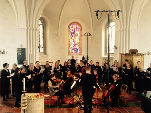 Mobile recording in Husie kyrka