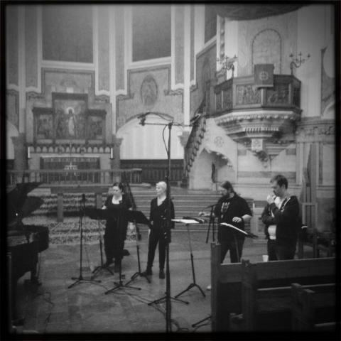 Mobile recording in S:t Johannes kyrka